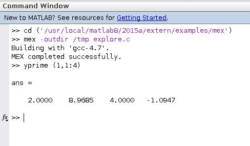 MATLAB Compiler (Mex and Mcc) - CsWiki